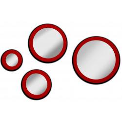 Juego de lunas circulares Miraggio