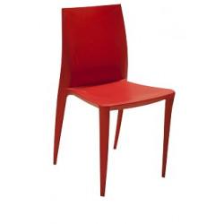 Silla Ardea Roja y blanca (10 pzas. disponibles) - entrega sólo CDMX y A. Metrop.
