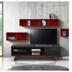 Set Wall Unit 4