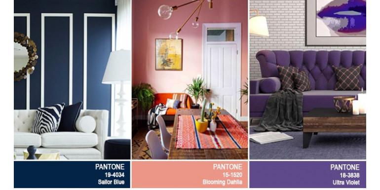 Colores en Tendencia para Salas